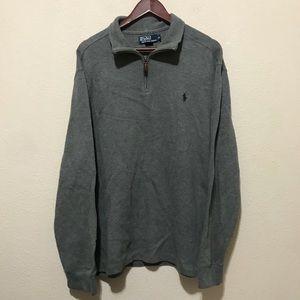 Polo Ralph Lauren Quarter Zip Sweater XLarge